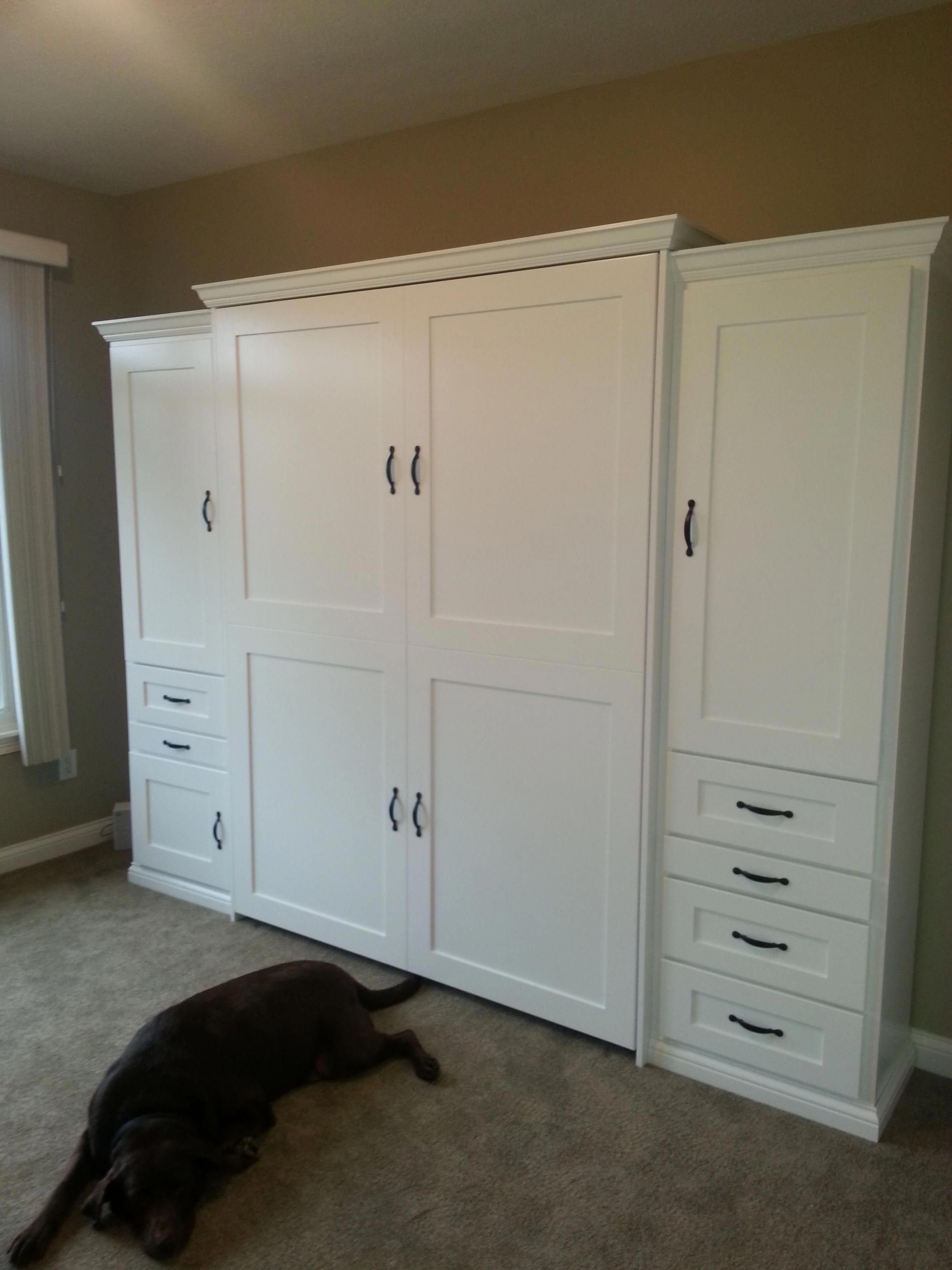 """Queen Bed In 10x10 Room: Obtain Fantastic Pointers On """"murphy Bed Plans Queen"""
