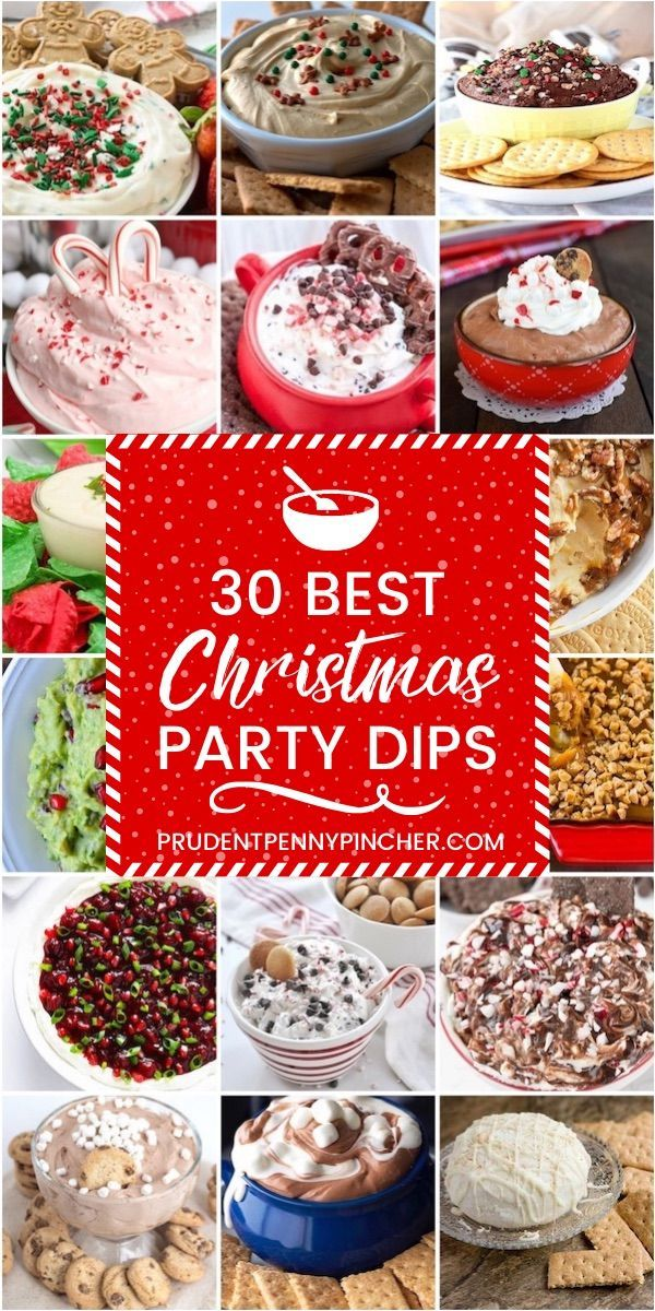 30 Best Christmas Party Dips -