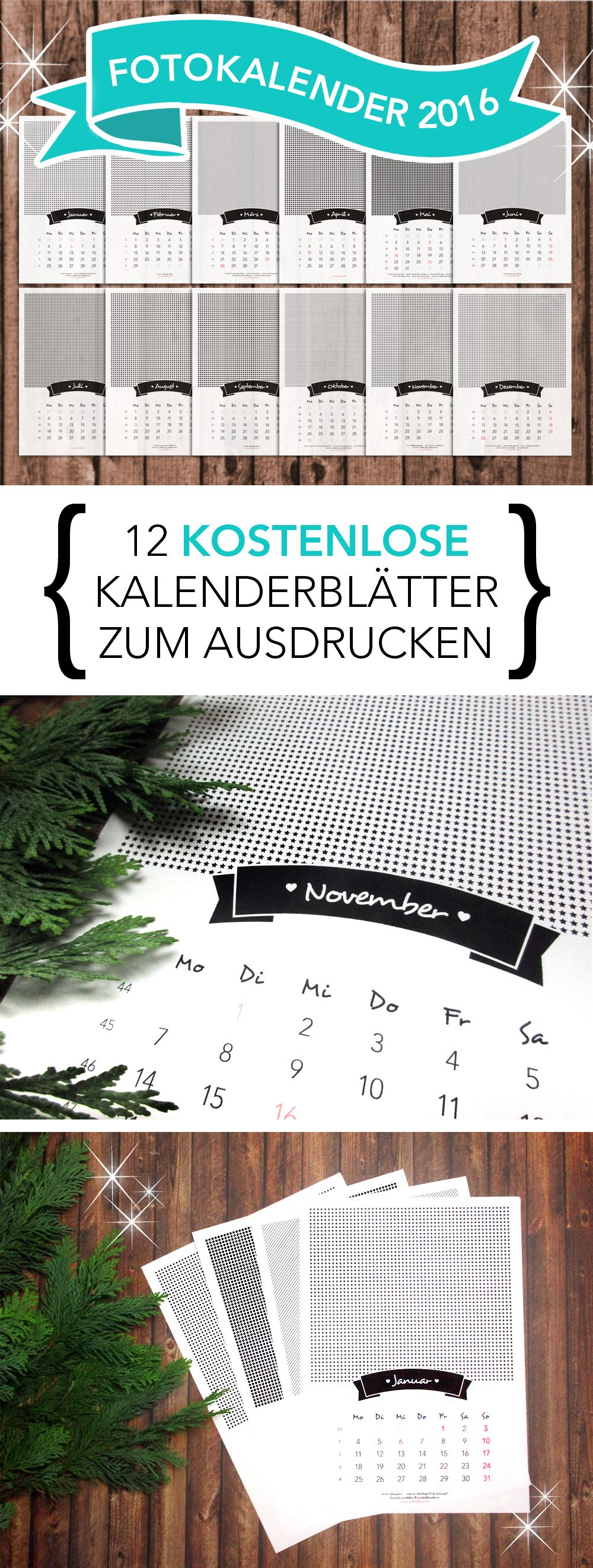 weihnachtsgeschenke selber machen fotokalender f r 2016 geschenke pinterest geschenke. Black Bedroom Furniture Sets. Home Design Ideas