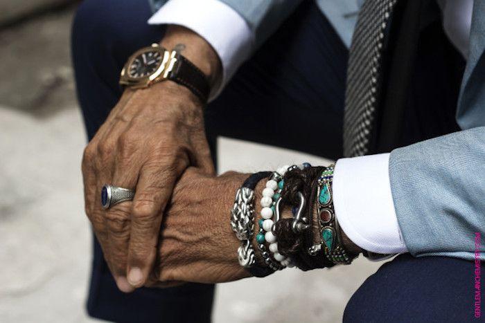 Préférence Conseils : les bijoux pour homme (bague, bracelet, collier  TS56