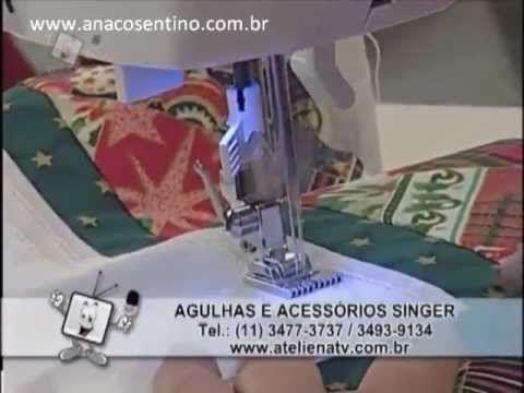 Ateliê Ana Cosentino: Panô de Natal Prof. Elisa Fumache