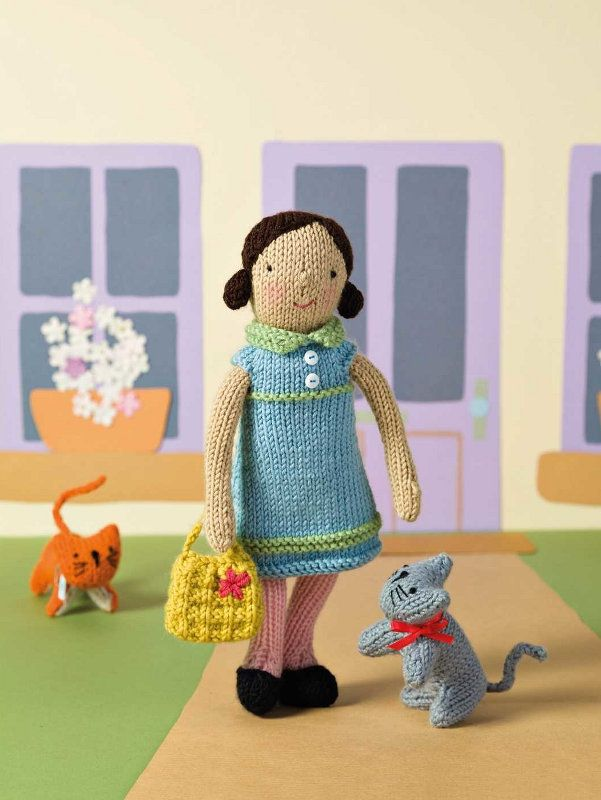 Knit Your Own Dolls By Fiona Goble Mca Direct Mostly Free