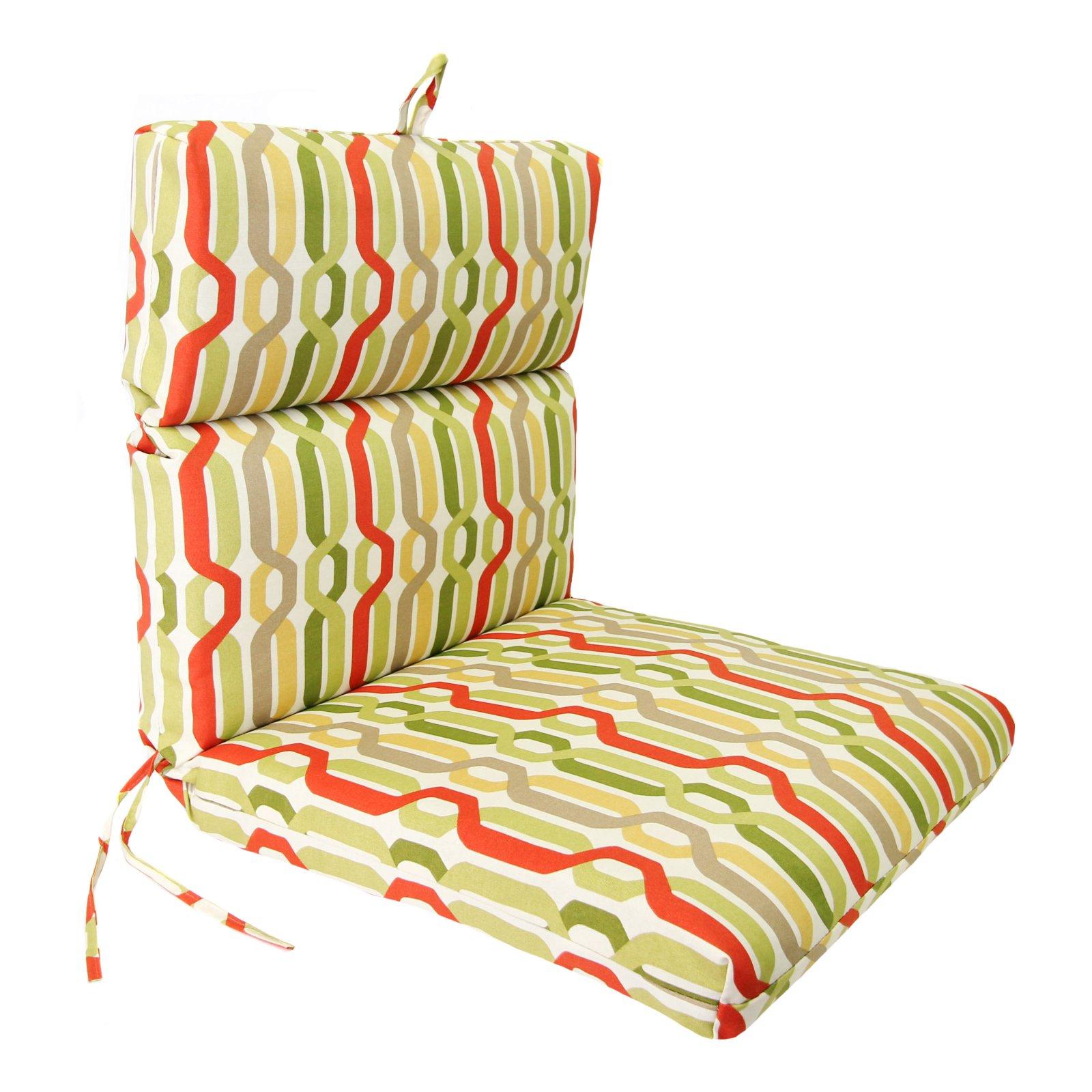 Jordan Manufacturing 44 X 22 In Outdoor Chair Cushion Culloden