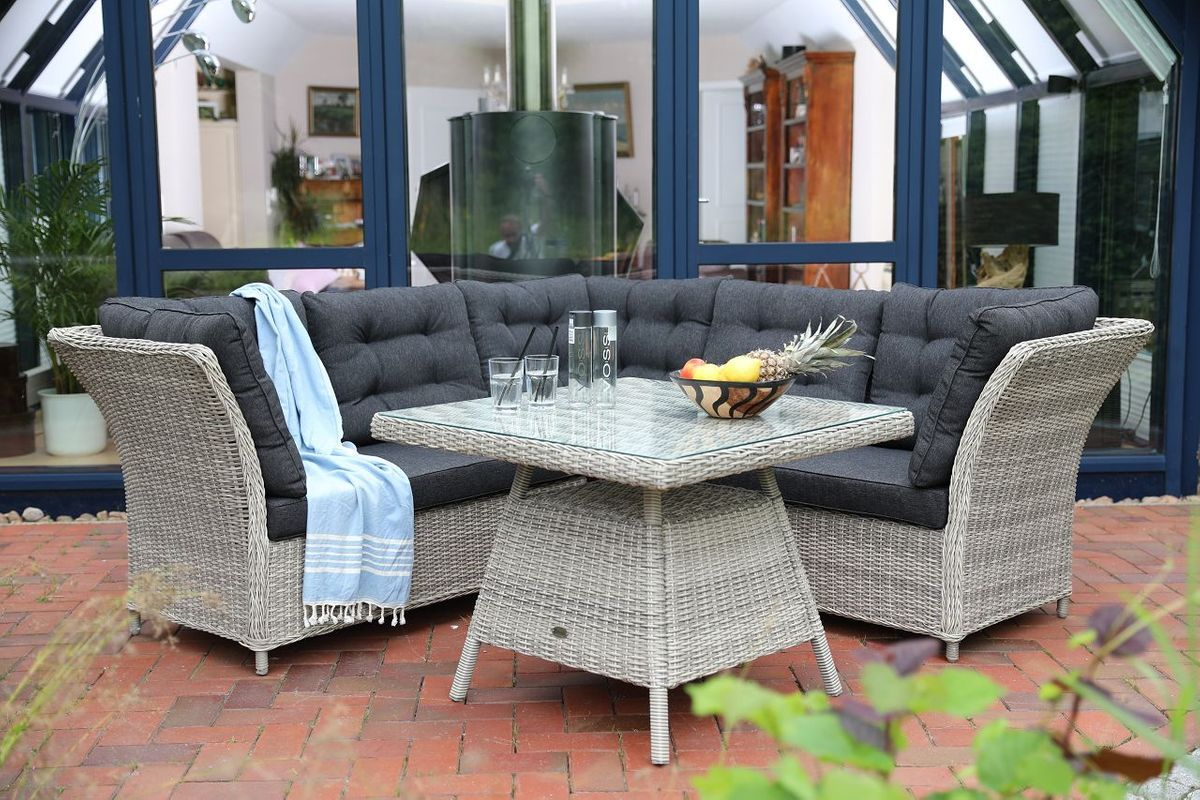 Dining Lounge Set Lampa In 3 Farbvarianten Verfugbar Outdoor