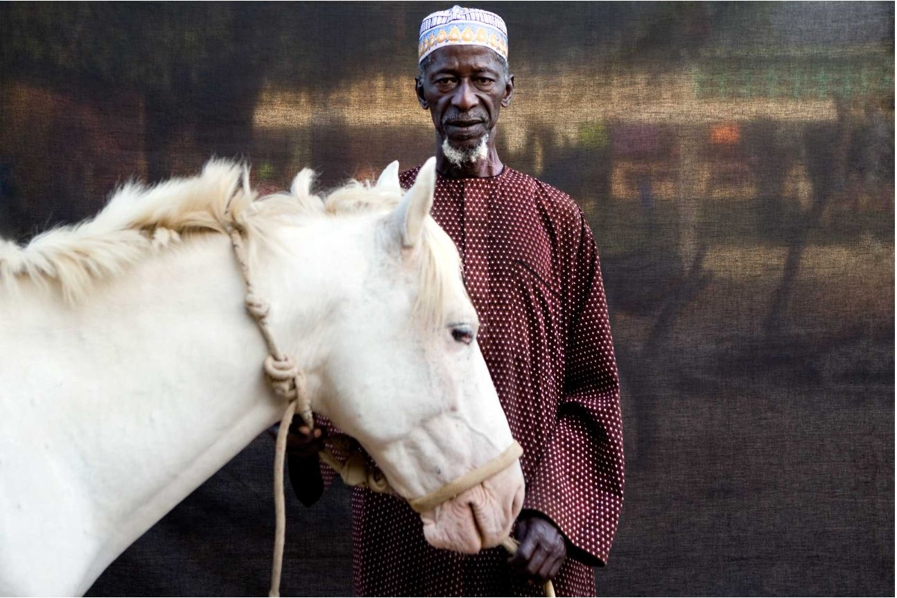 'Herouna with his horse' The Gambia, West Africa © Jason Florio 2009
