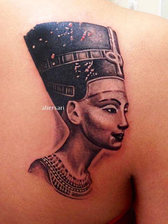 Queen Nefertiti Tattoo Meaning : queen, nefertiti, tattoo, meaning, Nefertiti, Tattoo, Tattoo,, Queen, Tattoos