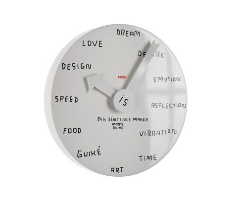 Orologio da parete #ALESSI #casa #cucina | orologi | Orologi da ...