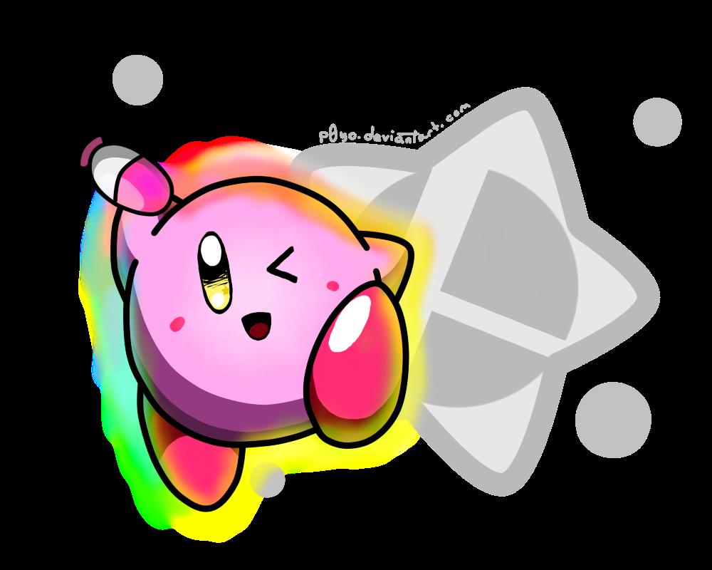 Smash Kirby! by p0Yo Kirby character, Kirby, Smash bros