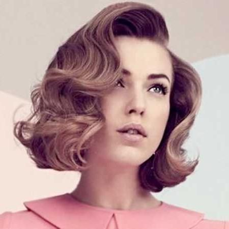 Vintage Hairstyles Easy Pin Curl Set For Retro Waves In 2020 Vintage Short Hair Vintage Haircuts Vintage Hairstyles