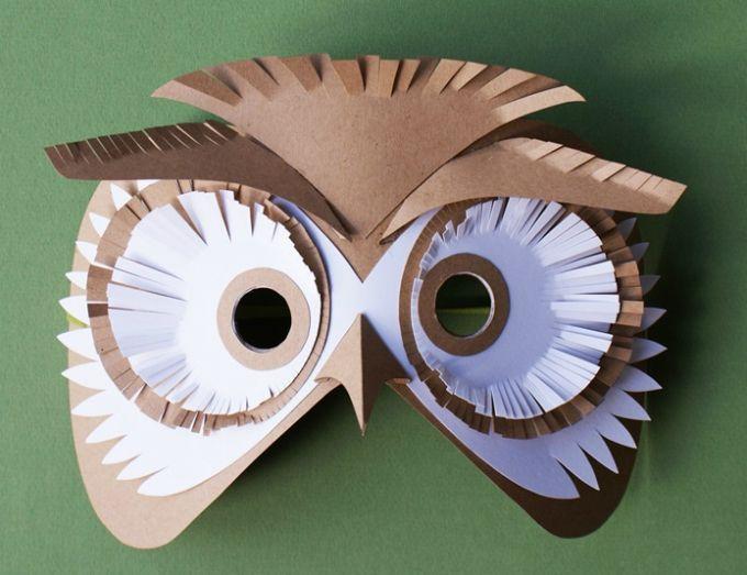 30 diy paper mask design ideas mask design paper mask for Diy paper mache owl