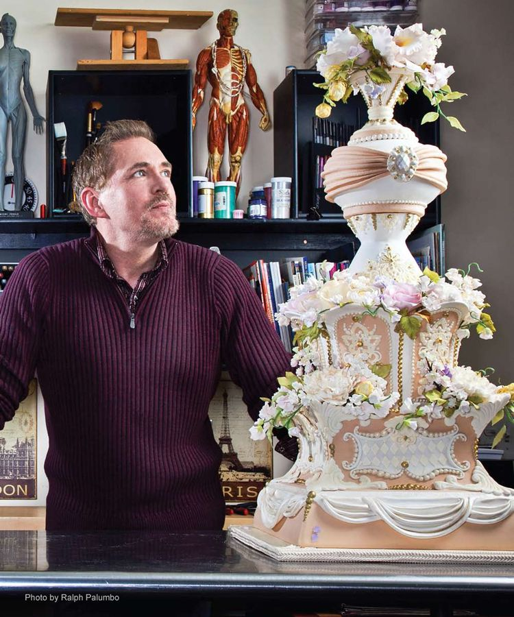 Wedding Cakes Orange County: Christopher Garrens' Let Them Eat Cake Located At SoCo In