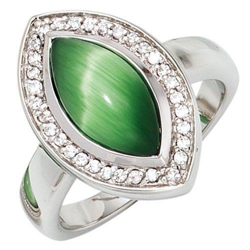 Damen-Ring 1 Katzenauge grün Silber 1 Zirkonia 60 (19.1) Dreambase http://www.amazon.de/dp/B00EYH29HC/?m=A37R2BYHN7XPNV
