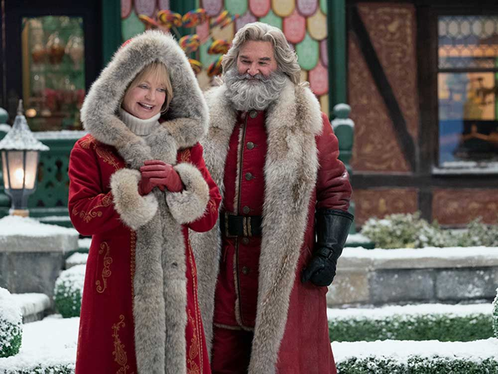 The Christmas Chronicles 2 Review Goldie Hawn Joins Kurt Russell In A Yuletide Kitsch Adventure Film De Noel Netflix Alexander Ludwig