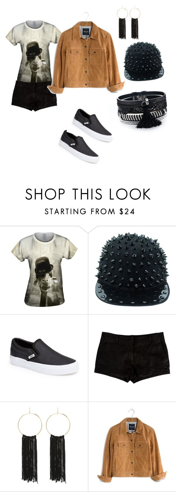 """""""casual"""" by noenglis-morles ❤ liked on Polyvore featuring Vans, L'Agence, Bebe and Madewell"""