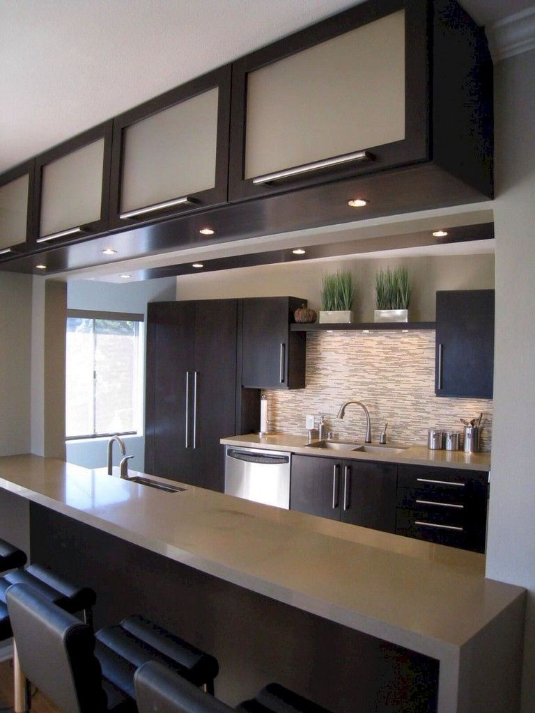 Best 80 Amazing Modern Kitchen Design And Decor Ideas Small 400 x 300