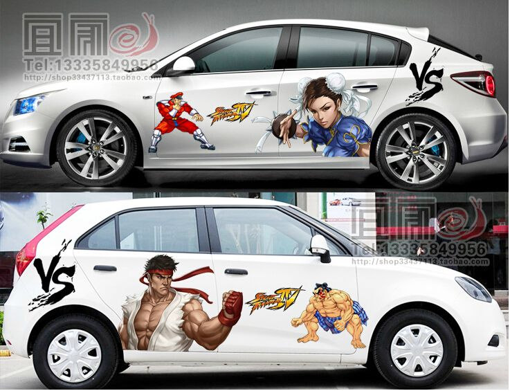Pieces Custom Hot Anime Touhou Project Car Stickers Car Vinyl - Vinyl stickers on cars