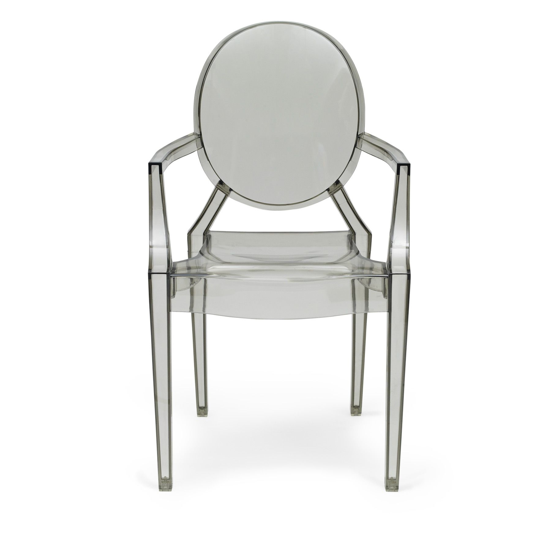 reproduction in design of philippe starck louis ghost armchair