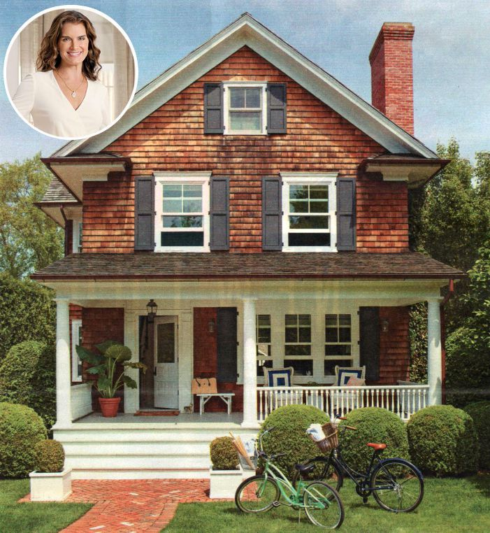 How Brooke Shields Decorated Her Hamptons House: Before and After