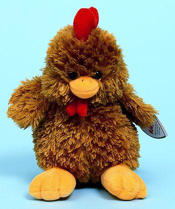Clucky (BBOM) - chicken - Ty Beanie Babies  9585d200e55