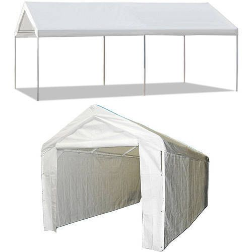 Carport Canopy 10 X 20 Shelter Garage Cover Tent Steel Frame Portable Heavy Duty Carportcanopy Carport Carport Garage Portable Carport