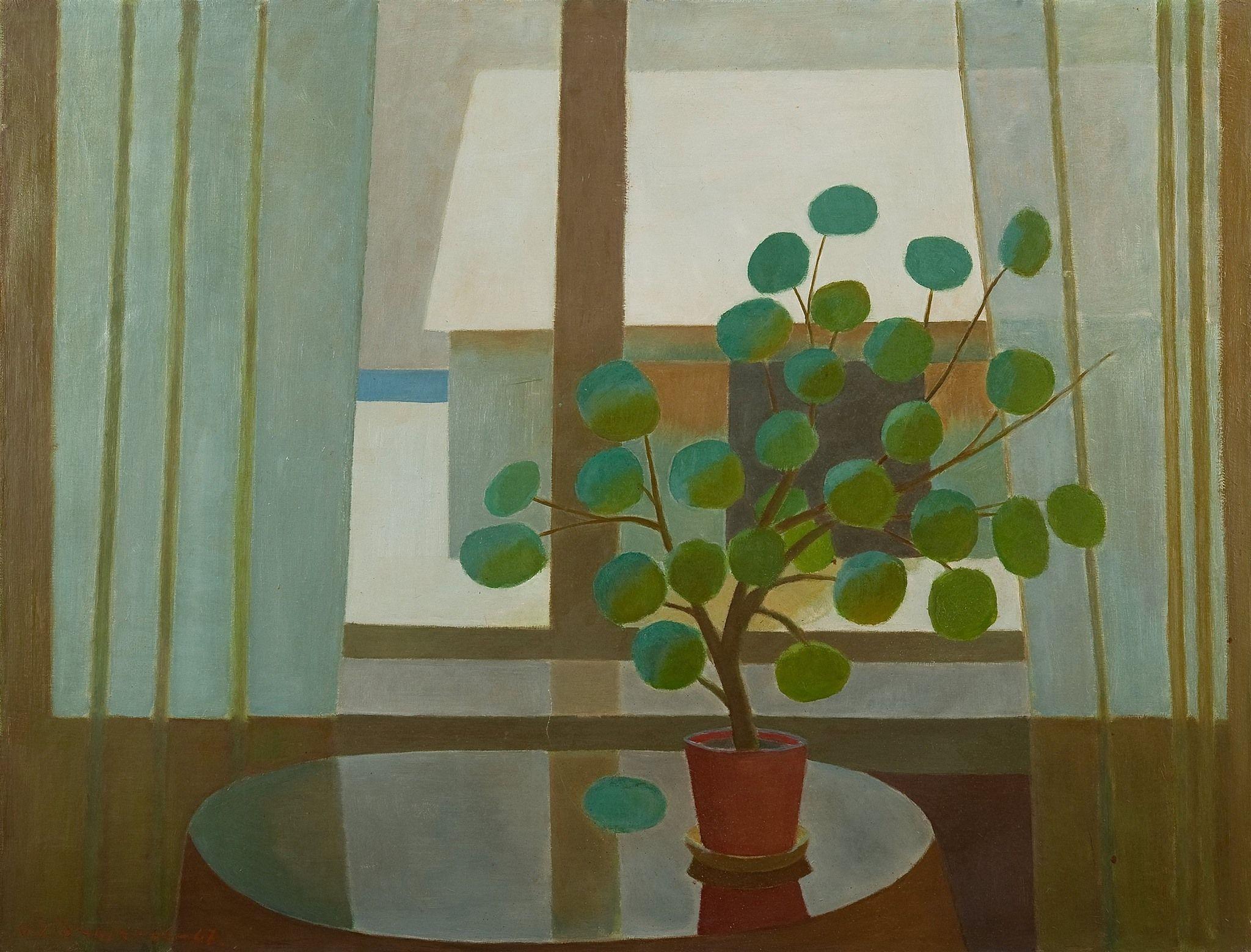 Veikko Vionoja, winter window, 1966.