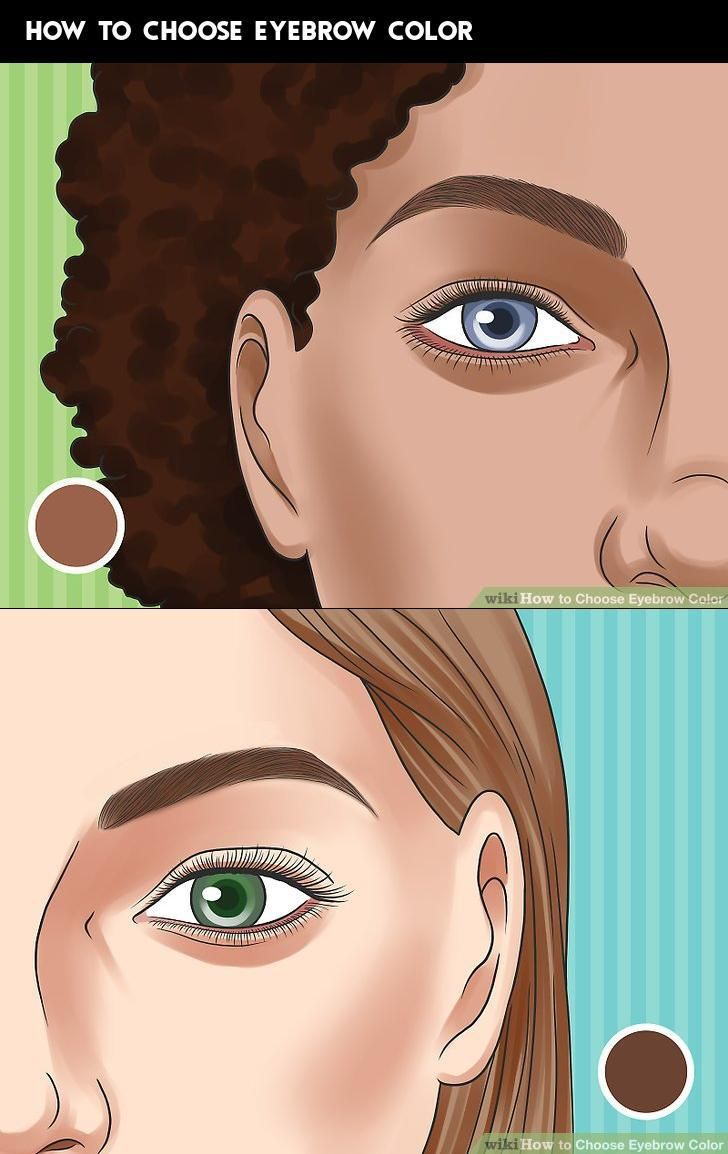 How to Choose Eyebrow Color | How to color eyebrows ...