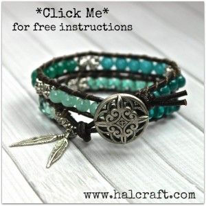 diy wrap bracelet instructions
