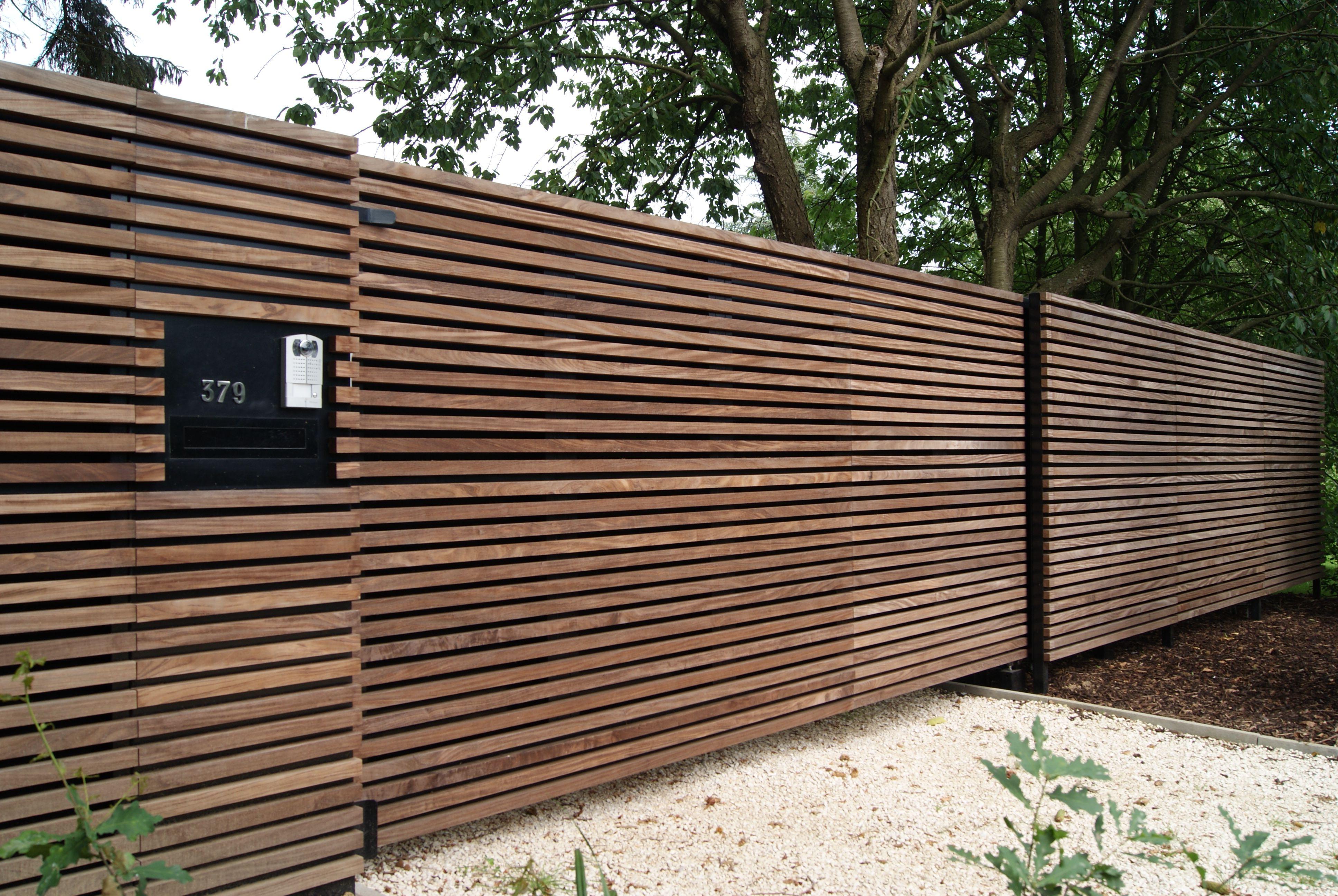 Afbeeldingsresultaat Voor Hout Poorten House Pinterest ~ Bardage Horizontal  Bois Avec Bois Pour Portail Exterieur