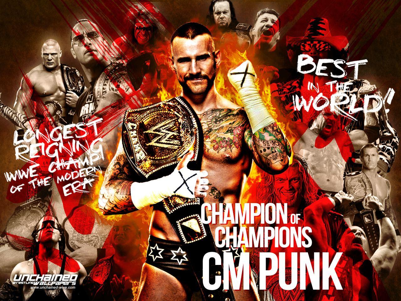 Wwe Wallpaper Cm Punk Champion Of Champions Cm Punk Wwe Wwe Champions
