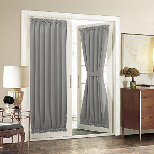 Aquazolax Blackout Patio Door Curtain Panel Draperies The Https