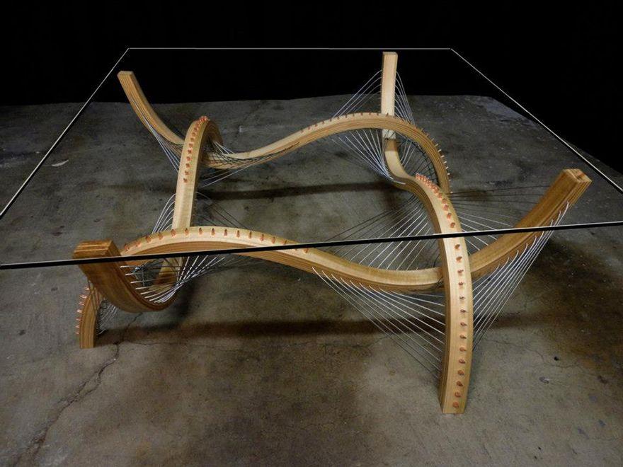 Suspension furniture