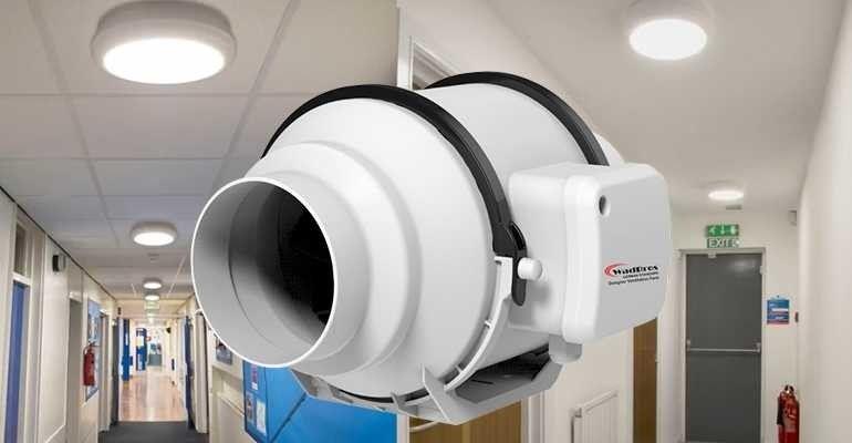 4 inch inline ventilation fan