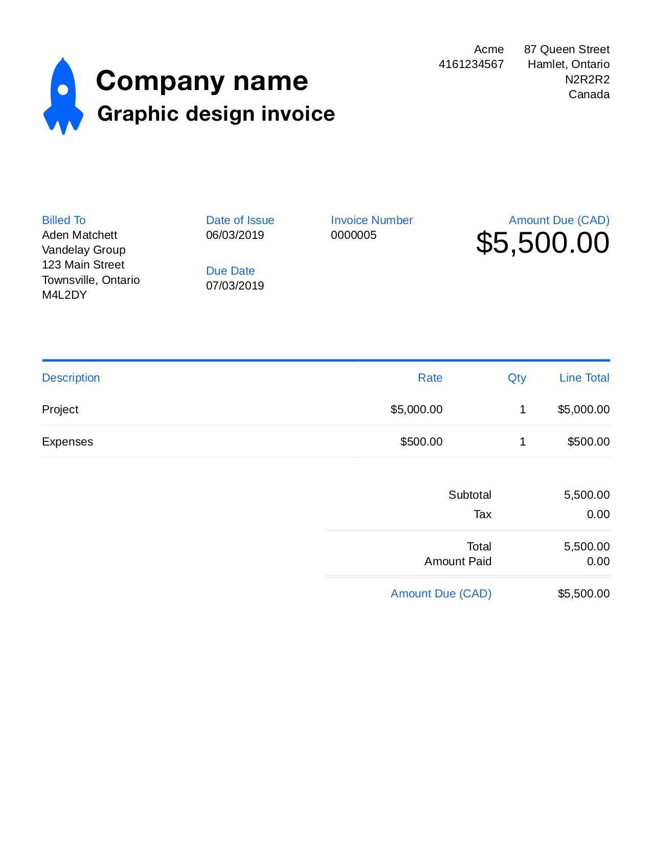 Die Amusante Grafikdesign Rechnungsvorlage Anpassen Und Einschicken 90 In Bezug Auf Amus Invoice Template Word Invoice Template Freelance Invoice Template