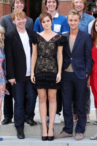 Emma Watson Photostream Tom Felton Harry Potter Harry Potter Actors Tom Felton