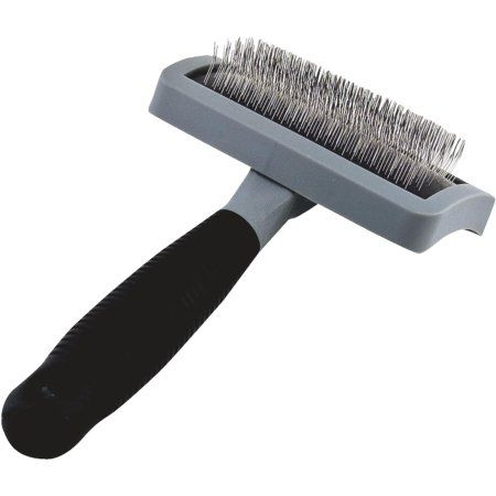 Soft Grip Slicker Brush Medium Dog grooming supplies