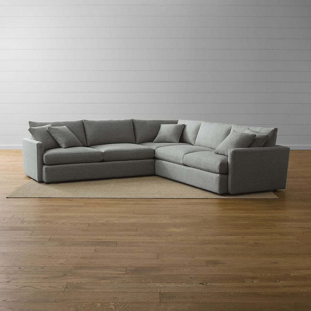 Wohnzimmer Couch 3 Teilig Shop Lounge Ii 3 Piece Sectional Sofa Slim Modern Track Arms