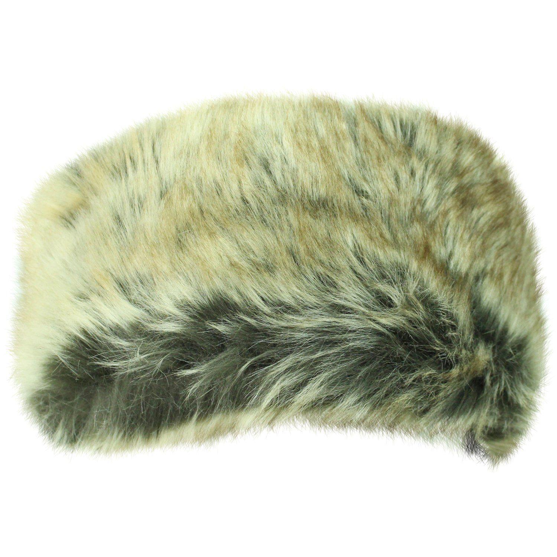 Faux Fur Headband With Satin Bow  620114115f5