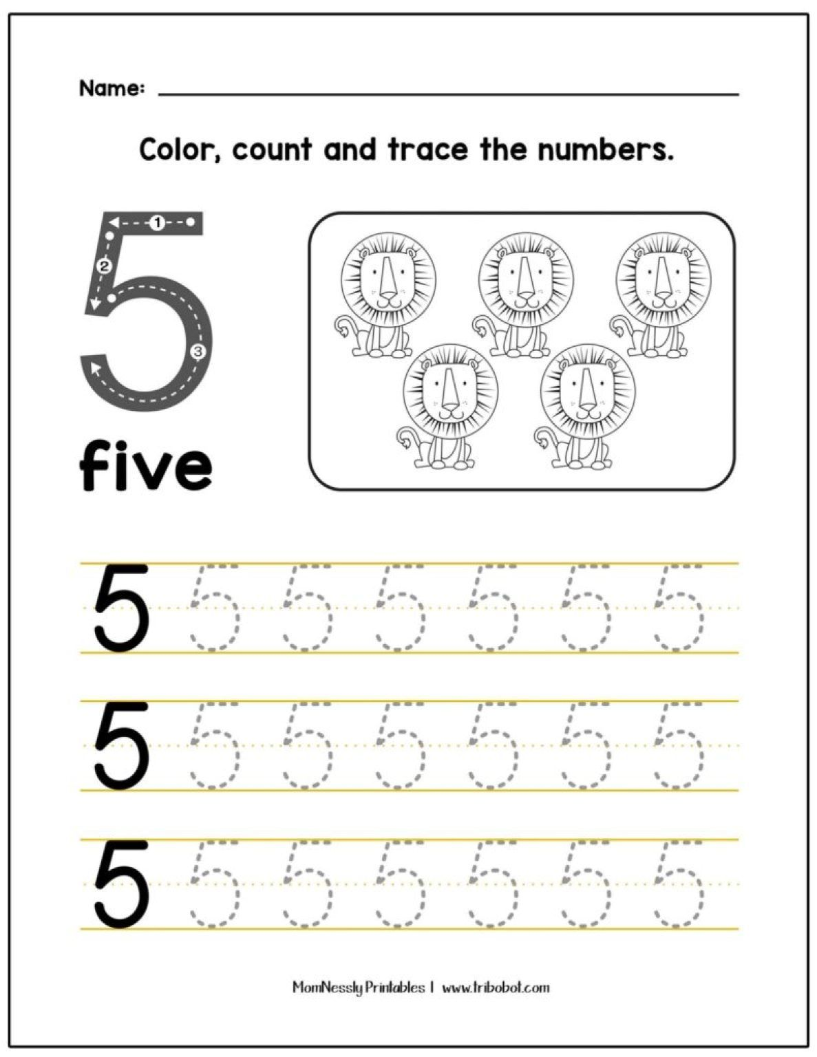 Let S Trace Numbers In