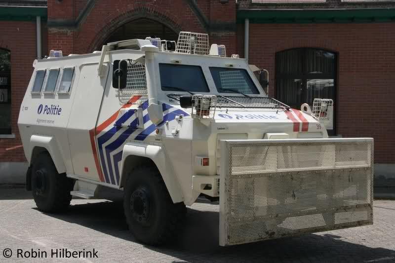politie voertuig België