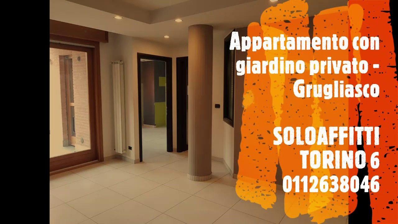 Appartamento in affitto con giardino privato a Grugliasco