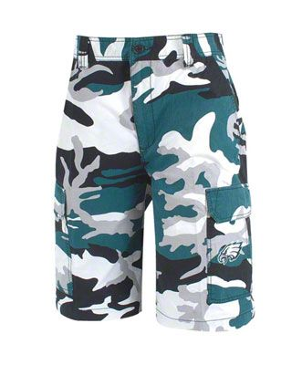 f1a5d115 WANT: Philadelphia Eagles Tailgate Camouflage Shorts | Completely ...