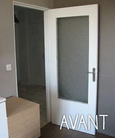 Relooker une porte dans un esprit industriel bricolage - Customiser porte interieur ...