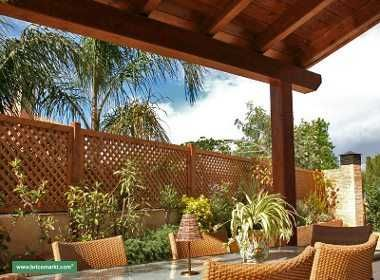 Cierres para terrazas y jardines ideas decoracion for Ideas para terrazas rusticas