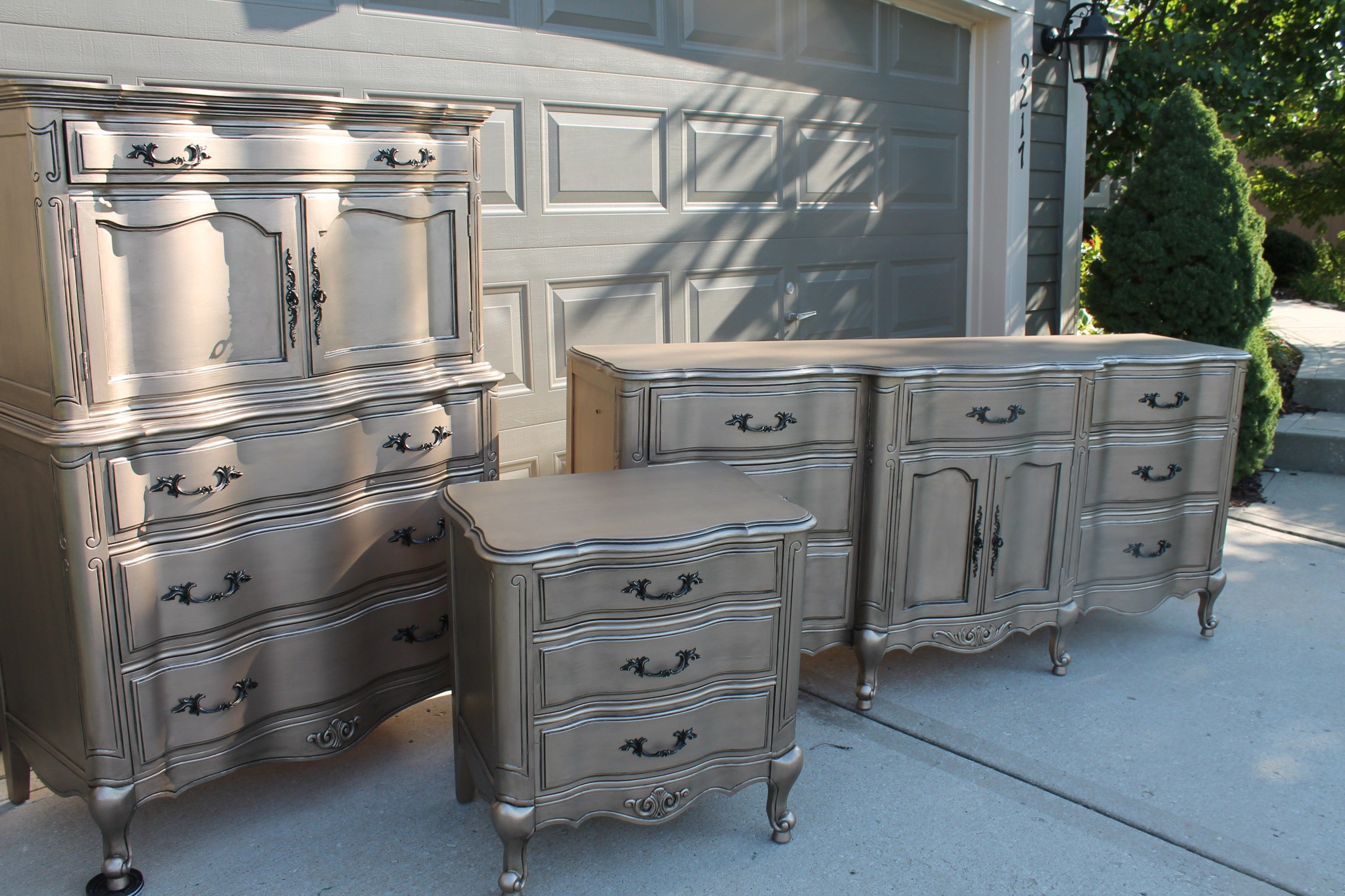 Silver Furniture My most talked about finish Silver