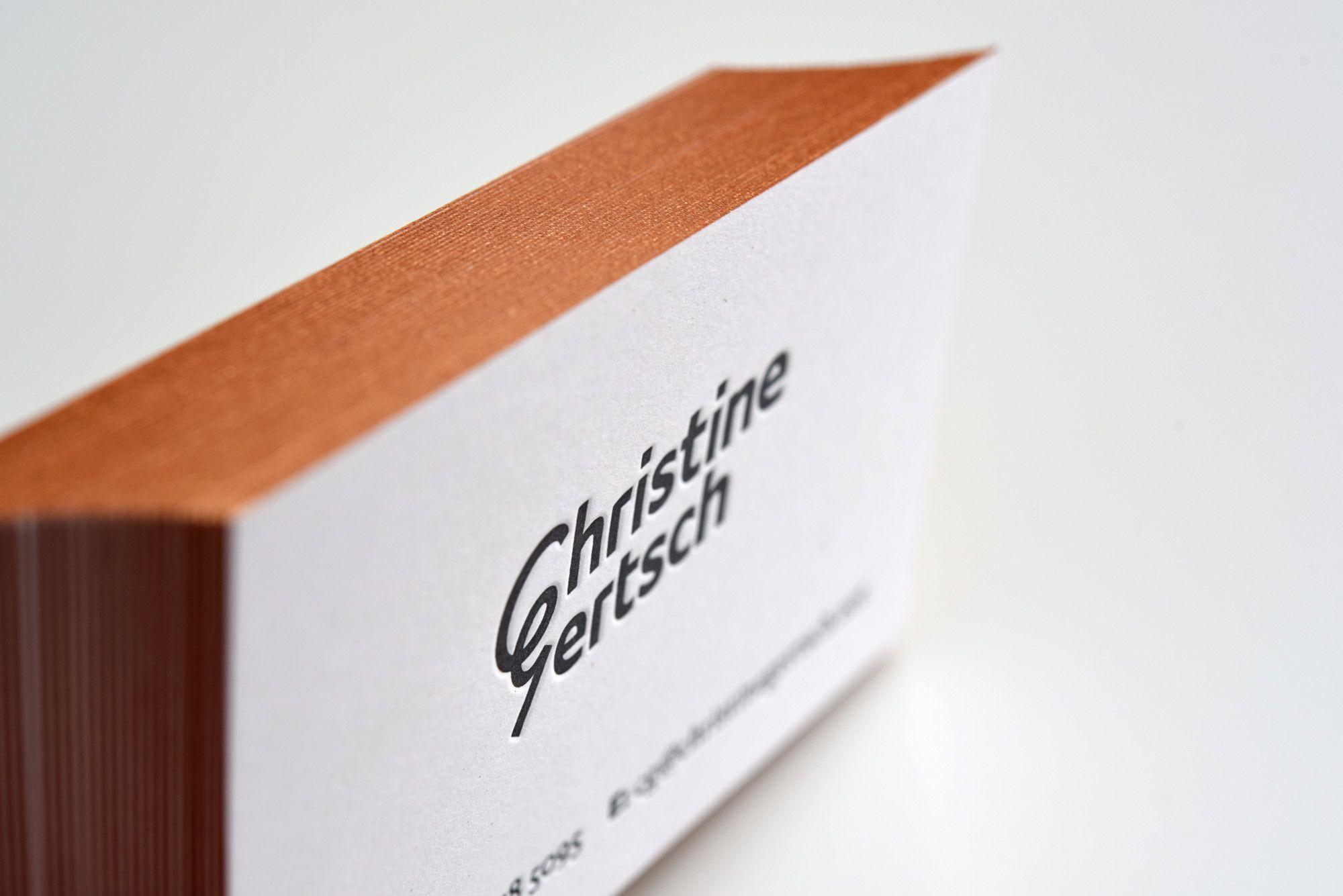 Eingefärbte Schnittkanten Für Www Christinegertsch Net