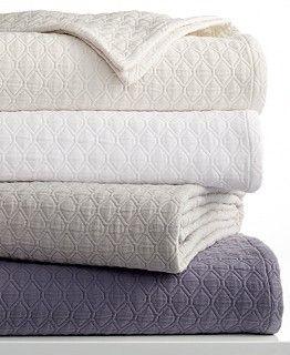 Vera Wang Diamond Matelasse Coverlet Collection   Quilts U0026 Bedspreads   Bed  U0026 Bath   Macyu0027s