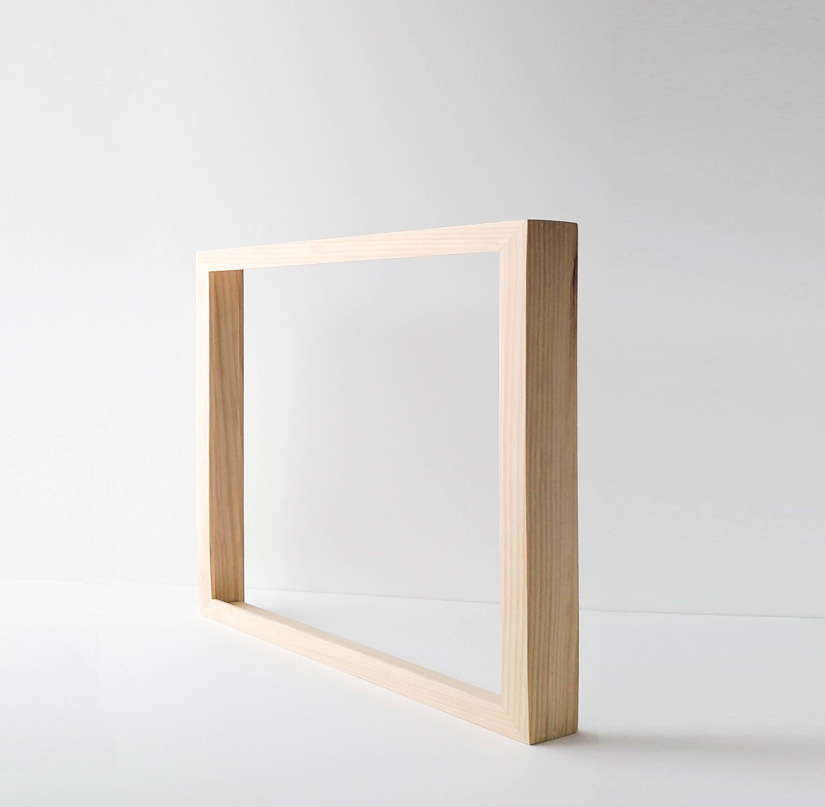 Custom Canvas Frame - Wood Frame for Canvas Painting or Canvas Print ...