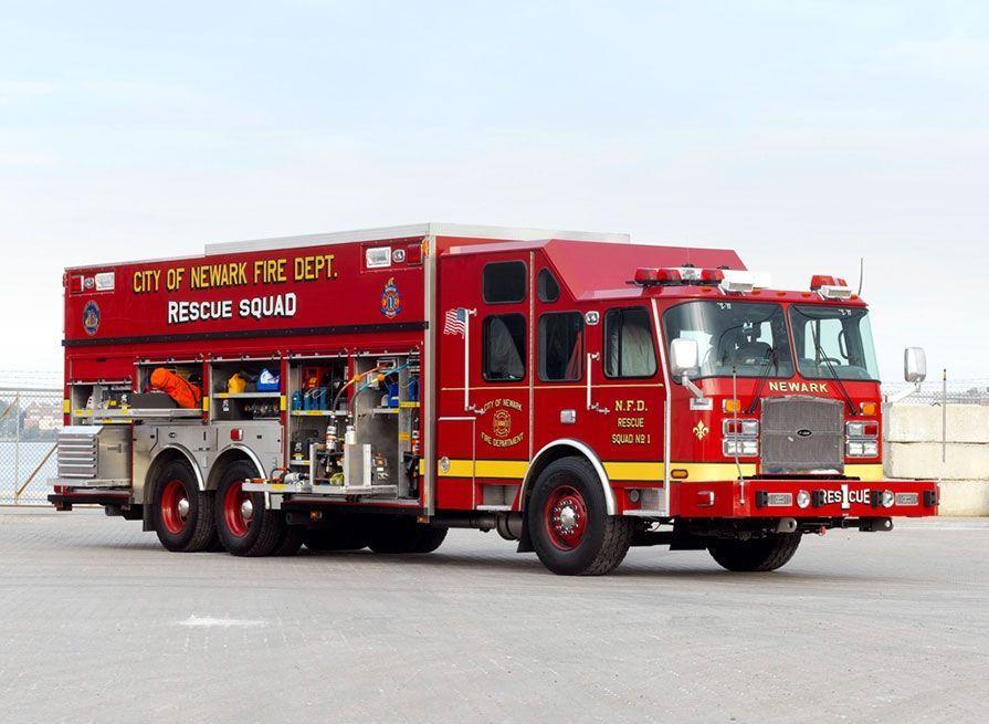 Newark, NJ FD EONE Heavy Duty Rescue. http//www.eone
