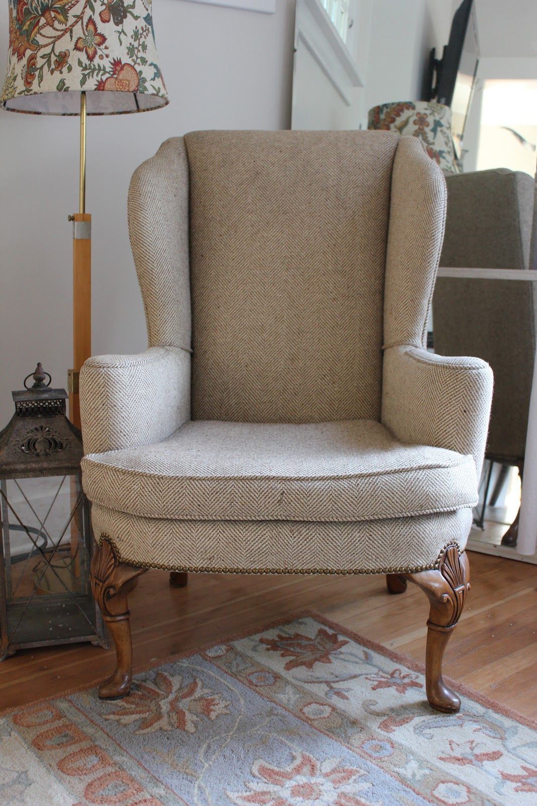 Making An Wingback Armchair  Httpwwwstudyintlmakingan Prepossessing Wing Chairs For Living Room Design Inspiration