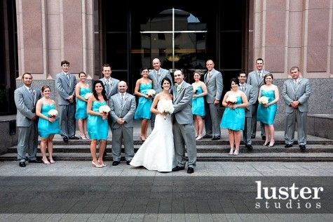 Turquoise And Silver Wedding Theme Cornelius Shanitra Website By Mywedding